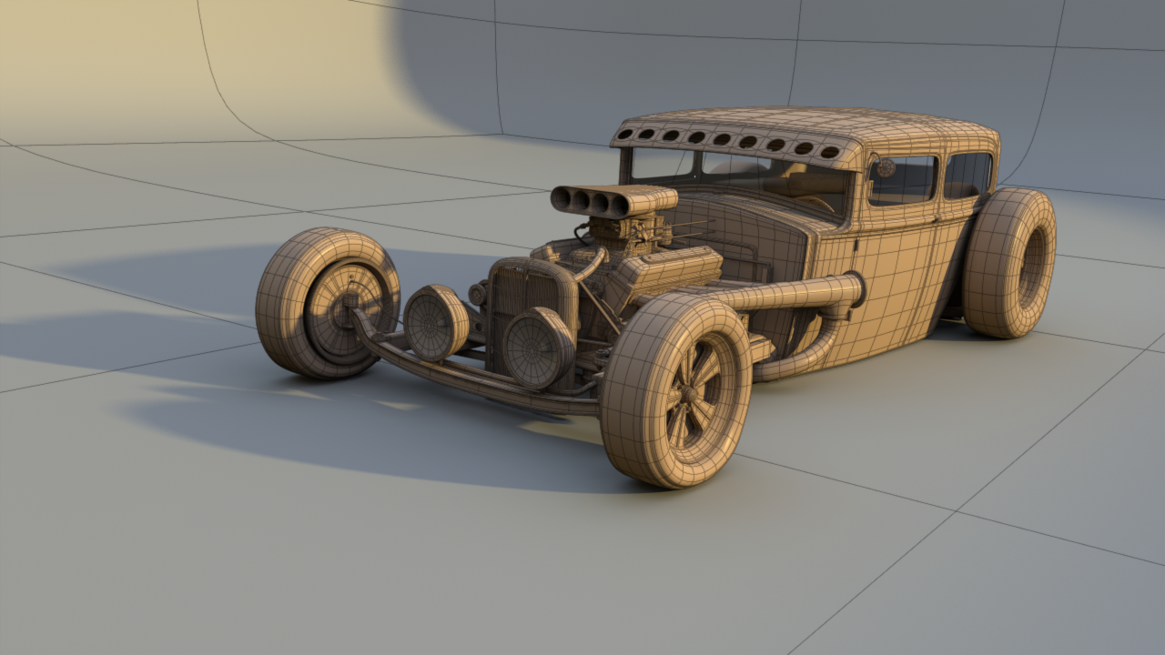 1931 Ford Tudor Rat Rod