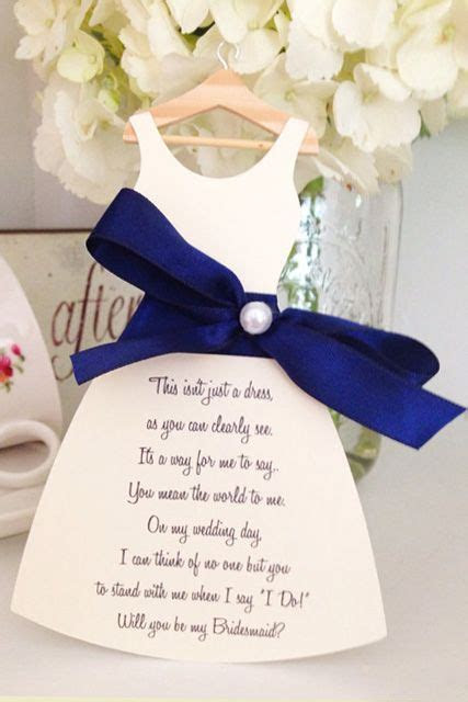 17 Best ideas about Bridesmaid Poems on Pinterest