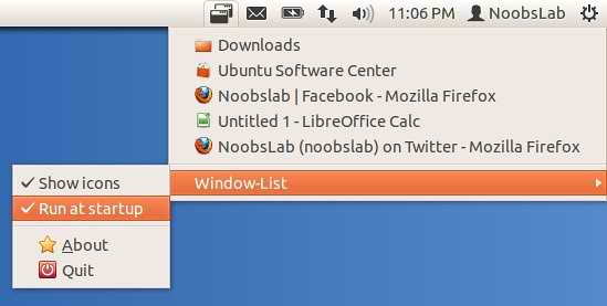 ubuntu window indicator