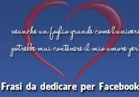 Frasi D Amore Frasi Per Facebook