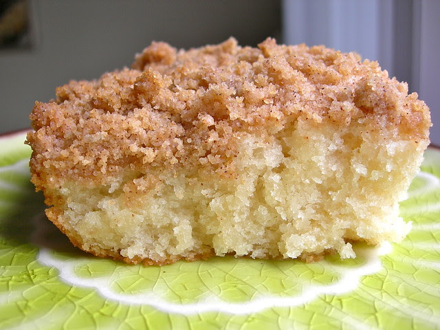 East Coast Coffee Cake (vegan)