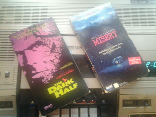 Details about  Horror Movie VHS VCR TAPE Lot Misery And The Dark Half