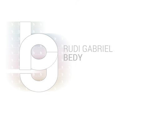 How my personal brand logo has grown with me | Rudi Gabriel Bedy - The Blog