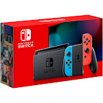 Nintendo - Switch 32GB Console Neon Red/Neon Blue Joy-Con