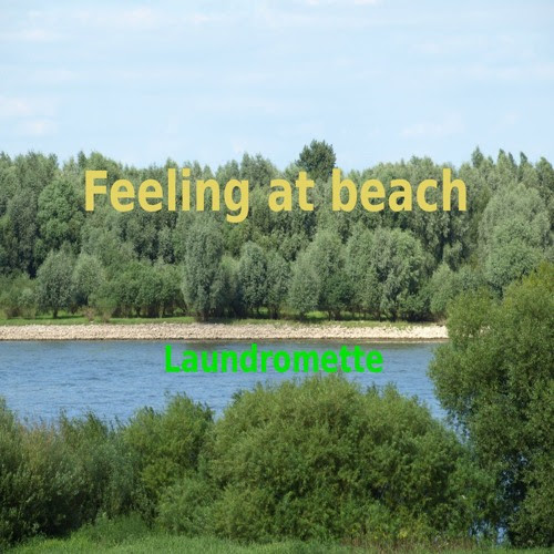 Laundromette - Feeling at beach by Peter Vennhoff