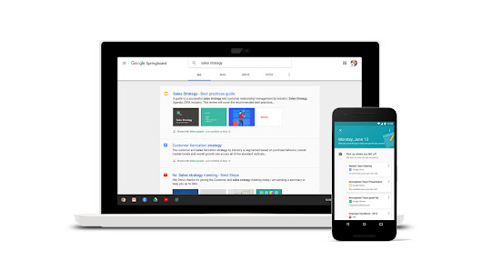 Google's Springboard is a search engine built for enterprise customers