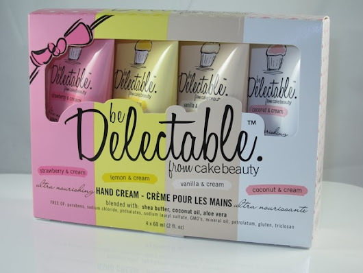 Be Delectable from Cake Beauty Ultra Nourishing Hand Cream Set Review