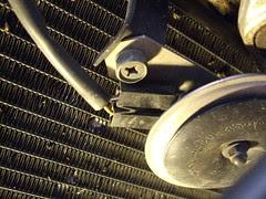 hella horn install on sv650