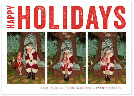 A Merry Christmas with Minted Holiday Cards - Adventure, baby!