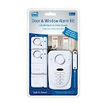 Sabre White Plastic Door & Window Alarm Kit