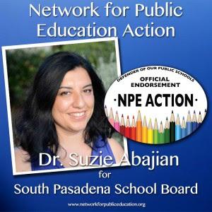 NPE Action Endorses Dr. Suzie Abajian
