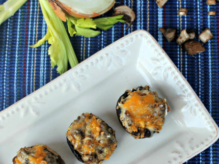 Sausage And Cheese Stuffed Mushrooms Recipe