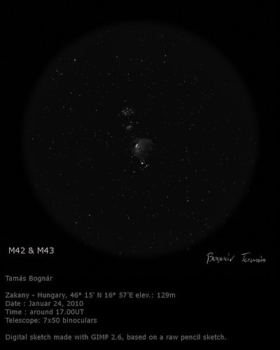 Messier 42 - Bognár Tamás - Vega Astronomical Association