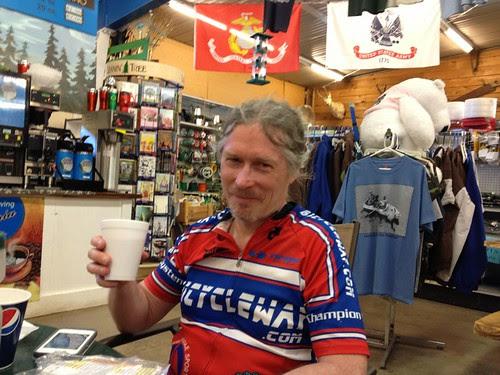 Coffee in Alsea in John Boy's