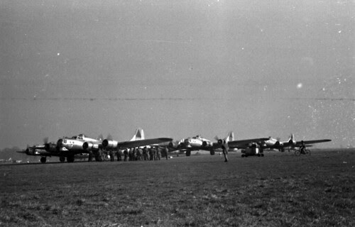 Planes lined up for mission 69 03