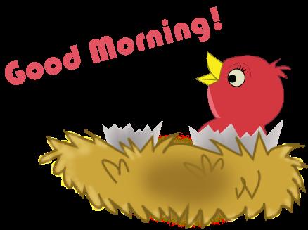 Good Morning Clipart Kid 2 Clipartingcom