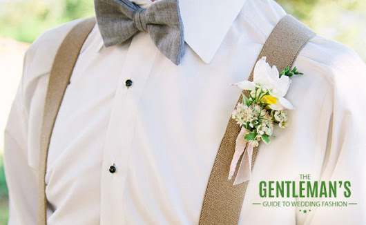 Wedding Fashion: The Gentleman's Guide | Inspire by Weddings Kenya