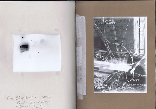 Artists Book : Leylines. Pages from the chamber (774) by Russell Moreton