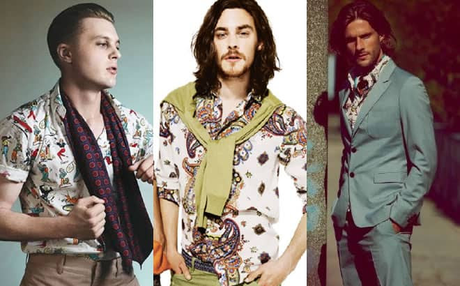 Men's Printed Shirts Lookbook