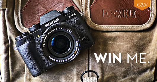 Want to win a Fuji X-T2?