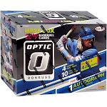 Collegiate Panini 2019 Donruss Optic Baseball Trading Card MEGA Box [12 Packs, 1 Autograph]