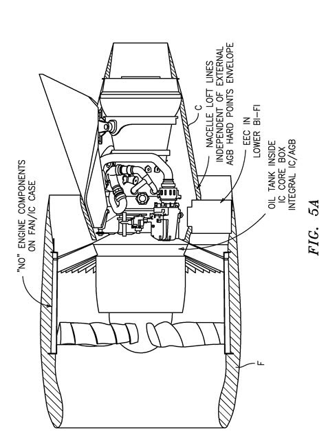 Patent US8256707 - Engine mounting configuration for a