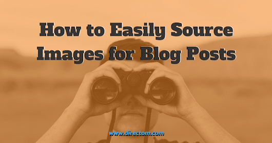 How to Find Images for Blog Posts & Other Content