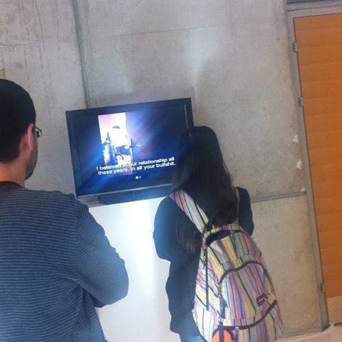 özlem günuol & mustafa kunt 'section 1' 2005 at 'ben, bizzat kendim' gerçek kötüler at cermodern (24 şubata kadar gezilebilir) #cer #cermodern #gercekkotuler #ben #video #exhibition #videoart #section1 #ozlemgunsoy #mustafakunt