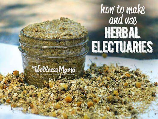 How to Make and Use an Herbal Electuary | Wellness Mama