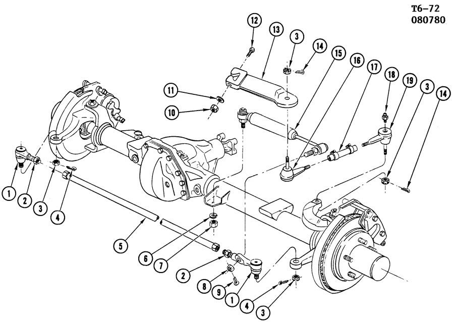 dodge ram 3500 steering parts diagram