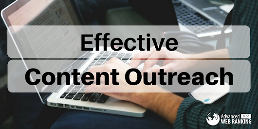 5 Ways To Stay On Course With Effective Content Outreach