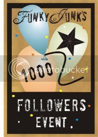 Funky Junk Interiors' 1000 Followers Event