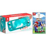 Nintendo Switch Lite 32GB Turquoise and Mario & Sonic Olympic Games 2020 Bundle