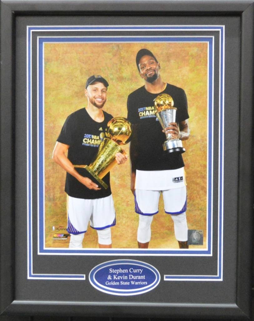 Stephen Curry Kevin Durant 11x14 Frame Golden State Warriors