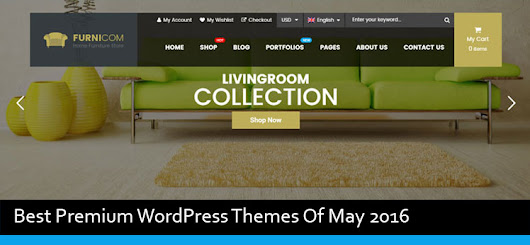 20 Best Premium WordPress Themes Of May 2016 - Modern WP Themes