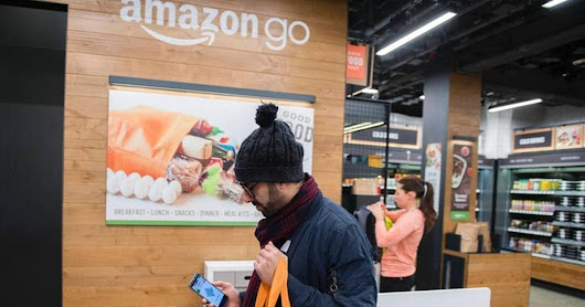 Commerce. On a testé le magasin sans caisse d'Amazon
