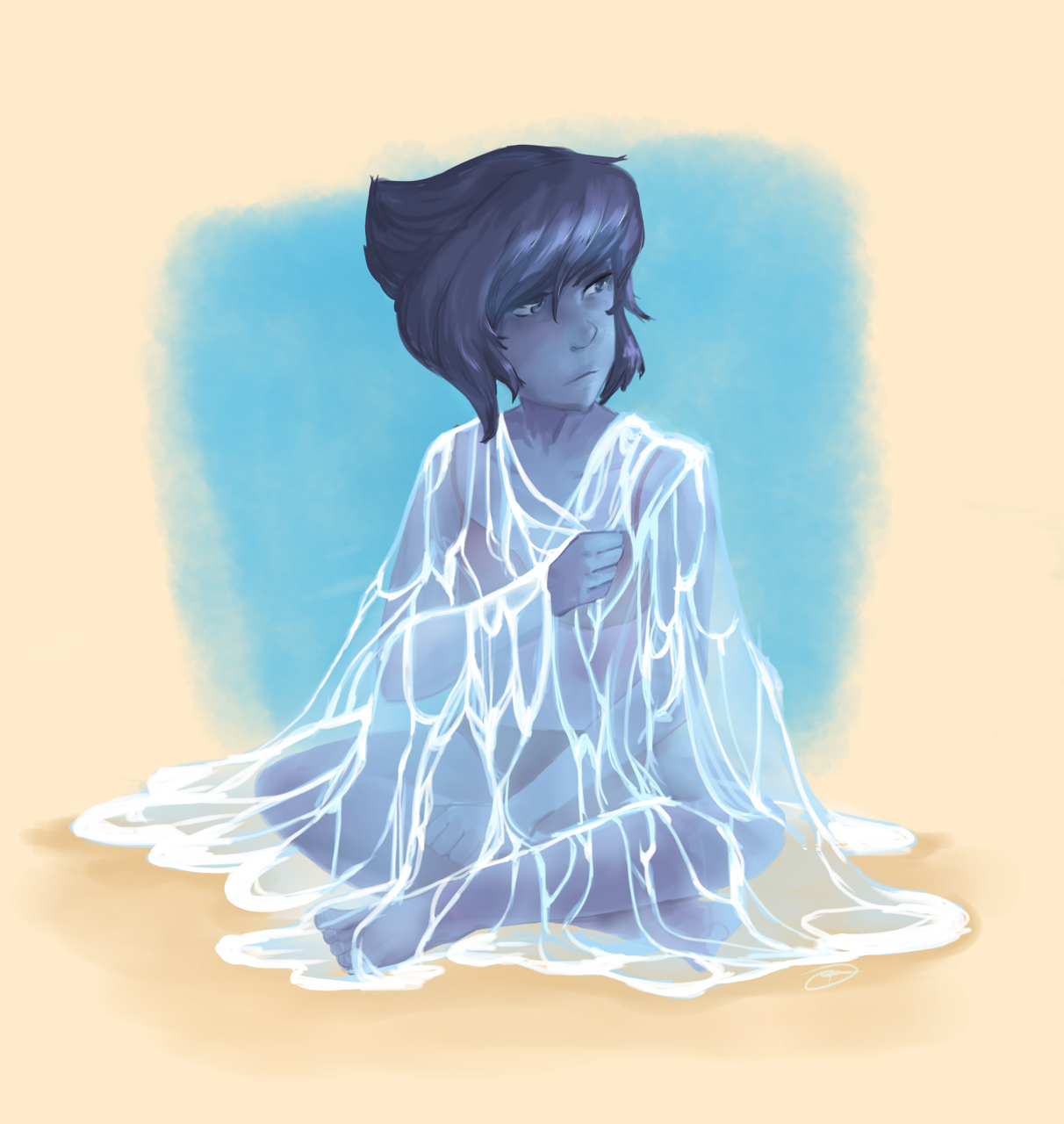 I always end up drawing Lapis.