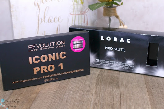 Dupe or Dud - LORAC PRO Palette vs Makeup Revolution Iconic Pro 1 - From My Vanity