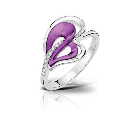 Lee Hwa Jewellery   Purple Gold? Passion Ring   Jewellery