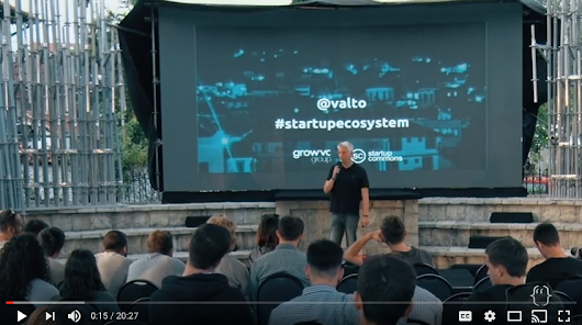 Video: Grow VC Group's Co-founder Valto Loikkanen Talks about Startup Ecosystems