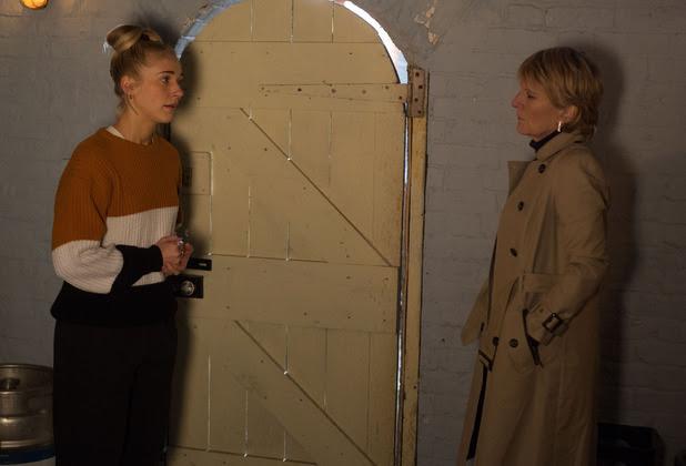 Nancy tells Shirley that Dean tried to burn the pub down