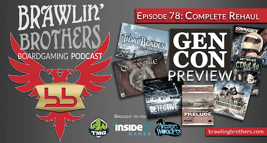 Episode 78 : GenCon Preview + Questions from a Hat with Cat (And Jordan) ⋆ Brawling Brothers Boardgaming Podcast