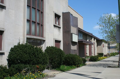 Midcentury funeral home