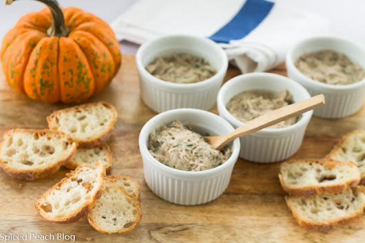 Sardine Rillettes - Spiced Peach Blog