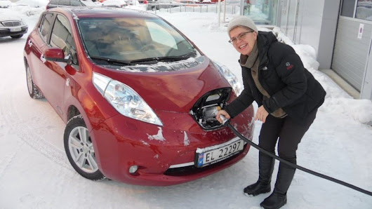 Why do they love electric cars in the Arctic Circle? - BBC News
