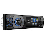 Soundstream - In-Dash CD/DVD/DM Receiver - Built-in Bluetooth with Detachable Faceplate - Black
