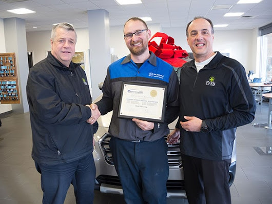 Park Subaru | Congratulations to Scott Pickering - Subaru Senior Master Technician.