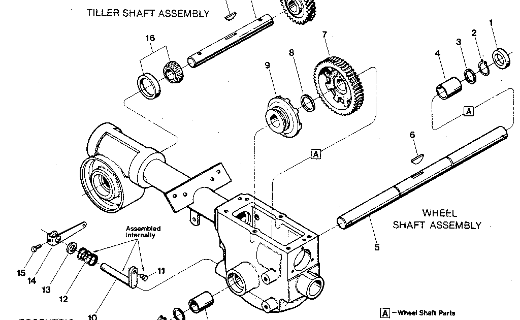 Wiring Diagram Database: Troy Bilt Horse Parts Diagram