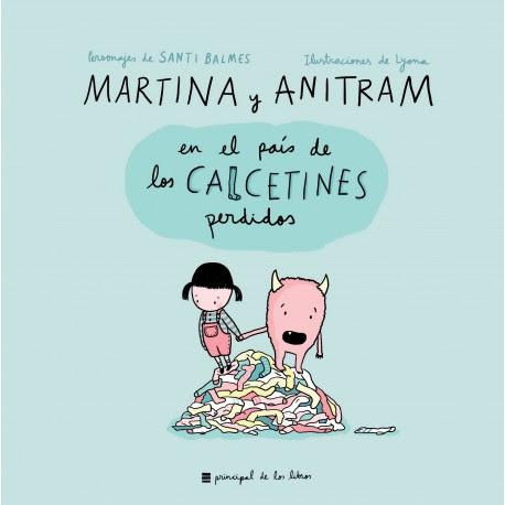 Resultado de imagen para MARTINA Y ANITRAM EN EL PAÍS DE LOS CALCETINES PERDIDOS