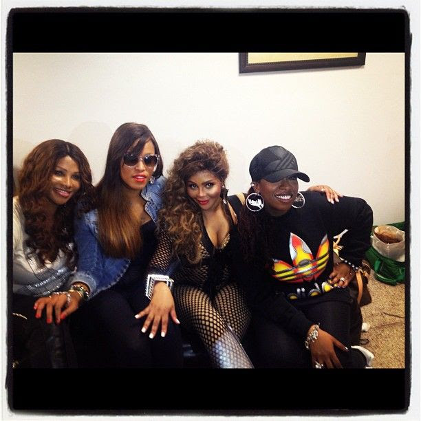 'Return of The Queen' Tour (5/18/12), Lil' Kim, Missy Elliott, Eve